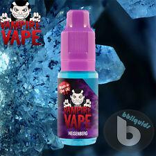 10ml x 10 - Vampire Vape - HEISENBERG Eliquid E liquid E Juice -  6mg