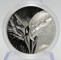 2020 Mongolia Majestic Eagle 1 oz Silver High Relief Coin OGP ounce - JJ260