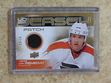 10-11 UD Game-Used Jersey Patch JAMES VAN RIEMSDYK /15