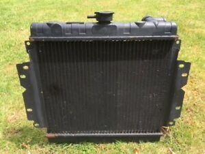 Ford Cortina Mk3 (4?) Radiator - used for few months.