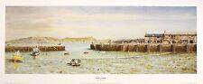 Robin Davidson, Lyme Regis, Dorset paysage art nouveau rare imprimer panoramique