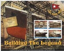 Titanic 1998 Madagascar Stamp Set of 6 Souvenir Sheets