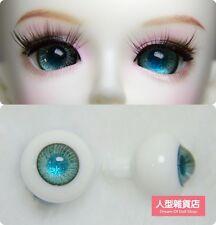 16mm  For BJD DOD AOD MK OK RD Doll Dollfie Glass Eyes Outfit blue 53