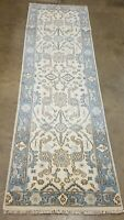 """2'.6"""" X8'5 HAND-KNOTTED TURKISH OUSHAK TRIBAL RUG VINTAGE WOOL EXTREMELY DURABLE"""