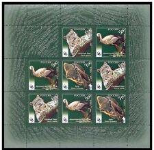 Russia 2007 MF WWF fauna in pericolo d'estinzione 7160-62 Mnh