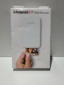 Polaroid ZIP White Digital Photo Inkjet Instant Mobile Printer New w/Box Wear