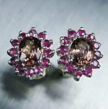 Natural Not Enhanced Ruby Fine Earrings