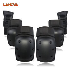 6 Pcs Skating Protective Gear Cycling Knee Elbow Wrist Pad Skate for Adult *
