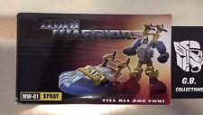 Transformers iGear Mini Warriors MW-01 Spray ( Seaspray ) 100% Complete