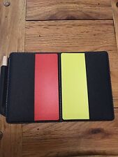 REFEREE WALLET AND CARDS FOOTBALL SCORE CARDS