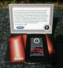 ZIPPO, FORD MUSTANG, LIMITED EDITION LIGHTER ((EXTREMELY RARE))