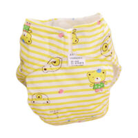 Baby Newborn Diaper Cover Adjustable Reusable Washable Nappies Cloth Wrap S-L