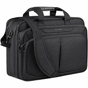 "KROSER Laptop Bag 18"" Expandable Lightweight Briefcase for 17.3"" Laptop Premium"