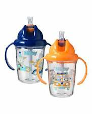 Nuby Day & Night Flip n Sip Cups 6-12 months Twin Pack Drinking Cup Unisex