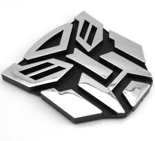 Insignia Emblema De Transformers 3D Logo Autobot gráficos Calcomanía Pegatina De Coche P (L49)
