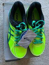 New ASICS Men's Gel-Cumulus 17 Running Shoe, Flash Yellow/Pine/Black, 6 M US