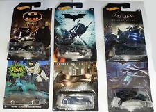 HotWheels Batman Batmobile Bat & Pod 6 Vehicle Set MIB