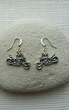 Harley Davidson Motor Bike Earrings.