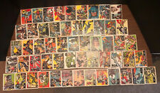 1966 BATMAN BLACK - COMPLETE SET-CARDS 1-55