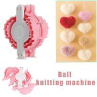 1Pc Small Heart Shape Pom Pom Maker Fluff Ball Weaver Baby Knitting Craft Tools