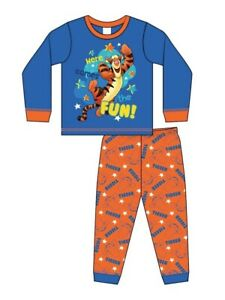 Boys Official Tigger Pyjamas 6 to 9 Months