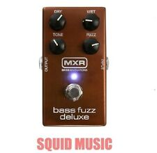 MXR Deluxe Bass Fuzz Effects Pedal M84 Dry, Wet Tone Controls M-84 (BEST OFFER)