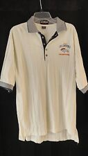 NFL Mens Denver Broncos 1997 Conference Championship Polo Shirt XL EUC