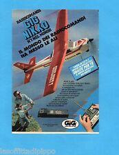 TOP990-PUBBLICITA'/ADVERTISING-1990- GIG NIKKO - CESSNA SUNLIGHT