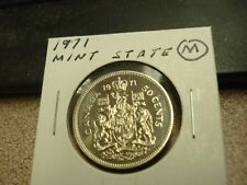 PROOF LIKE - 1971 - Brilliant Uncirculated - Canada Half - Canadian 50 cent