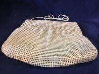 Vintage Ivory Mesh Purse Hand/Shoulder Bag