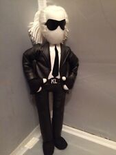 Rare 2011 Karl Lagerfeld for Sephora Paris Plush Stuffed Doll Chanel Collectible