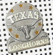 LICENSED LAPEL  PIN TEAM LOGO TEXAS LONGHORNS GO  LONGHORNS