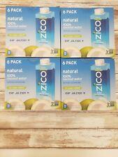 Zico Beverages Natural Coconut Water Drinks, No Sugar Added Gluten Free, 8.45 Fl