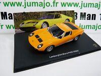 LB5O voiture 1/43 IXO LAMBORGHINI : MIURA P400 1966 orange