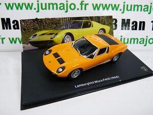 Miura Roadster SVJ 1981 Blanche LB61O voiture 1//43 IXO LAMBORGHINI