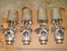 Waukesha Cherry Burrell Stainless Pneumatic 3 Way Sanitary Valve FREE SHIPPING