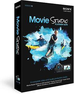 Brand new SONY Movie Studio Platinum Suite 12 in seal