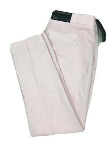 NWT Banana Republic RYAN Women's Size 6S Pink Slim Fit Lightweight Wool Pants