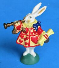 Presents 1990 Alice in Wonderland Pvc Figure The Herald Rabbit