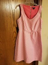 I ♡ RONSON PINK & WHITE BRAND NEW LADIES DRESS