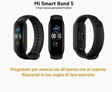 Xiaomi Mi Band 5 Smart Bracelet BT 5.0 Fitness Tracker Nero Globale IT (m5)