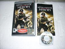 GIOCO UMD  PLAYSTATION PORTABLE MEDAL OF HONOR HEROES - PSP PORTATILE