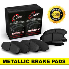 FRONT + REAR Metallic Disc Brake Pads 2 Complete Set Fits Ford F-150 5 Lug