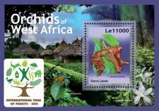 Sierra Leone - Orchids of West Africa Stamp -S/S MNH