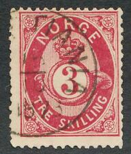 NORWAY 18 USED F-VF 3SK