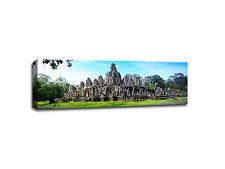 """Angkor Wat - Cambodia - 48""""x16"""" Canvas  Wall Art"""