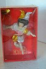 Christmas Ornament Porcelain Fairy Doll Collectors Club in Box #5