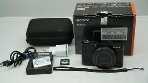Sony Cyber Shot Rx100 IV Digital Camera
