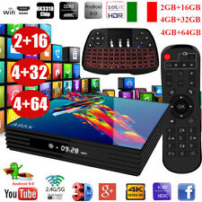 A95X R3 Smart TV Box Android 9.0 RK3318 Quad Core 4GB+64GB 4K Con Tastiera Y5B9