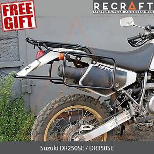 Whole-welded Luggage rack system for Suzuki DR250SE / DR350SE + GIFT